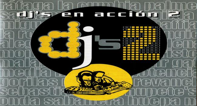 DJ's en acción Vol. 2 MP3 320 MF