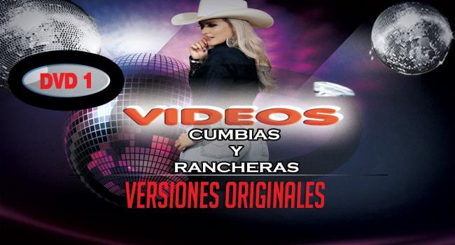 20 Videos Cumbias Rancheras Versiones Originales DVD 1 720p 16:9